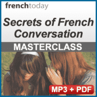 Secrets of French Conversation Audio Lesson