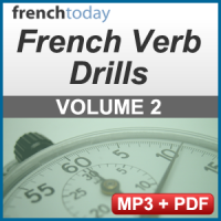 French Verb Audio Drills Volume 2