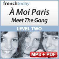 À Moi Paris Level 2 French Audiobook