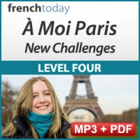 À Moi Paris Level 4 French Audiobook