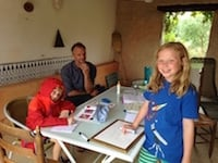 french immersion in france
