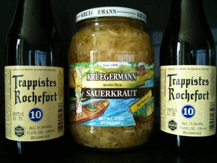 la choucroute la bi re sauerkraut with beer learn french. Black Bedroom Furniture Sets. Home Design Ideas