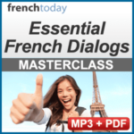 Essential French Dialogs Audio Lesson