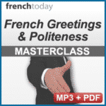 French Greetings & Politeness Audio Book