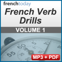 French Verb Audio Drills Volume 1