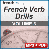 French Verb Audio Drills Volume 3