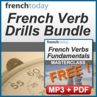 French Verb Drills Bundle - French Conjugation
