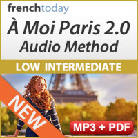 À Moi Paris 2.0 Low Intermediate French Audio Method