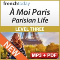 À Moi Paris Level 3 French Audiobook