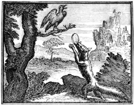 le corbeau et le renard french poem audio