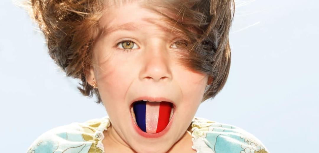 teach learn french to kid child children
