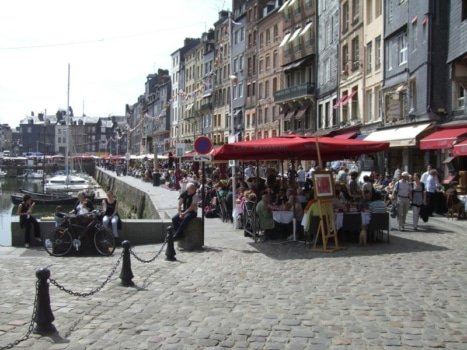 learn french honfleur