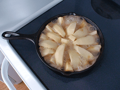 French apple pie Tatin recipe 1