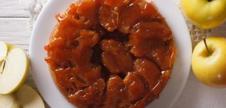 French Apple pie Tarte Tatin recipe