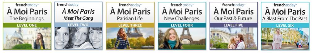 À Moi Paris series L1 to L6