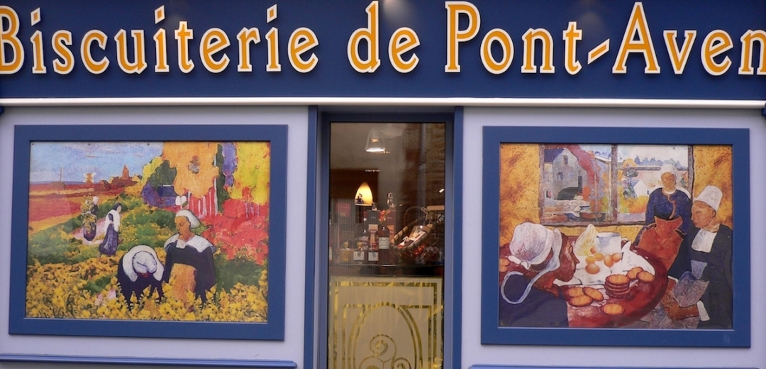 pont aven learn french