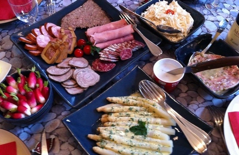 French vocabulary charcuterie cold cuts
