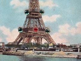 short essay on eiffel tower in french