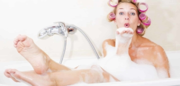 french bath and shower vocabulary