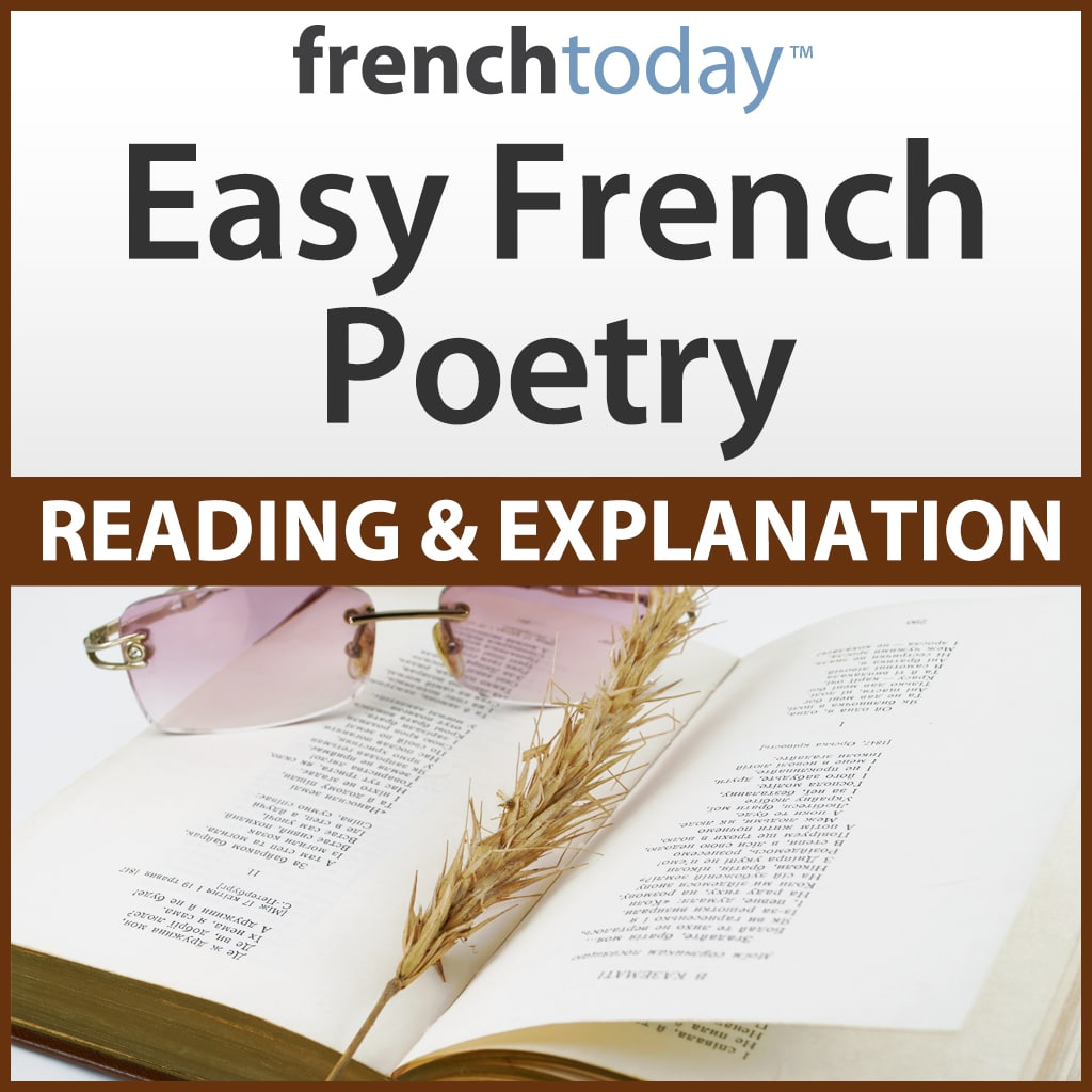 Easy French Poetry Audiobook