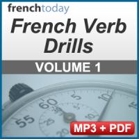French Verb Audio Drills Volume 1