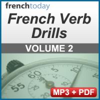 French Verb Audio Drills Volume 2