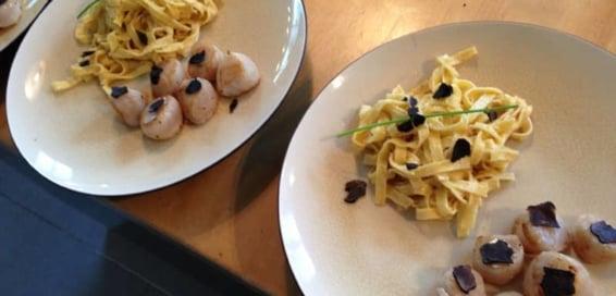 scallops and foie-gras recipe