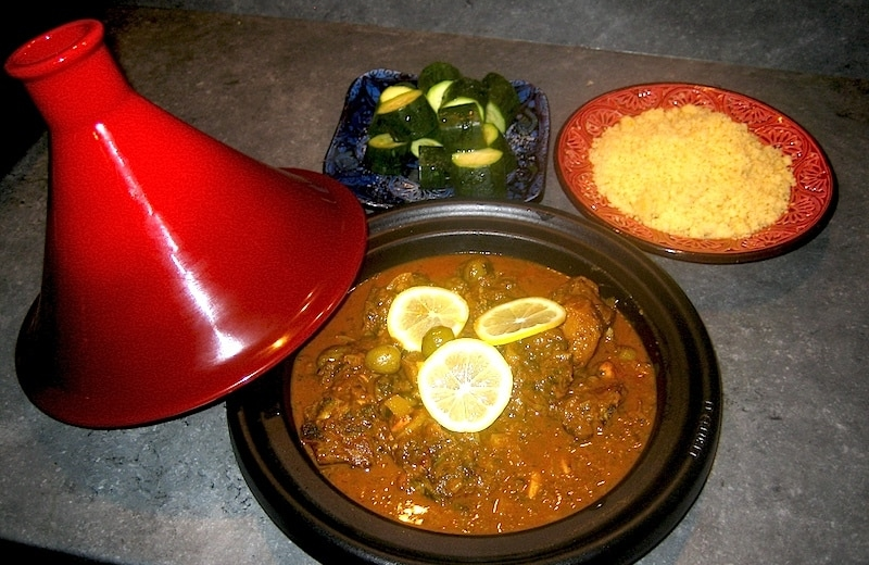 Tajine agneau citron - Photo