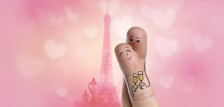 love in French romance friendship