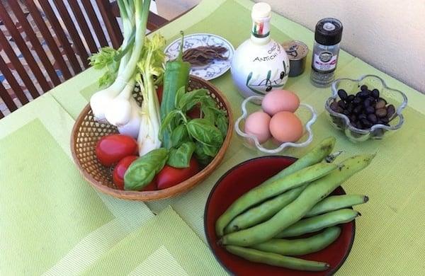 la salade nicoise french practice