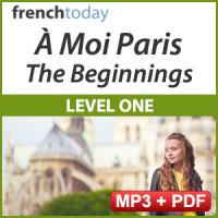 À Moi Paris Level 1 French Audiobook