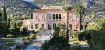 La Villa Ephrussi De Rothschild french english story