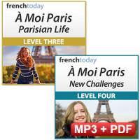 À Moi Paris Intermediate Level Bundle