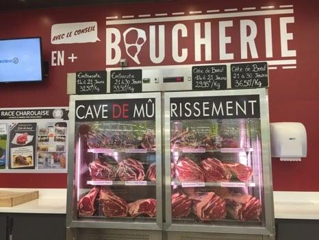 viande maturée Leclerc