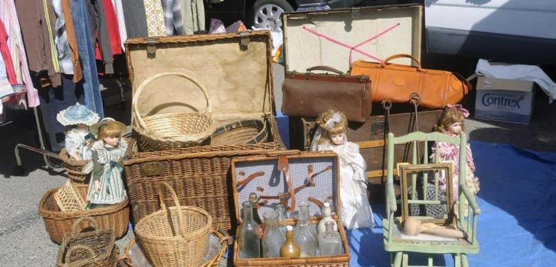 french yard sale flea market vocabulary