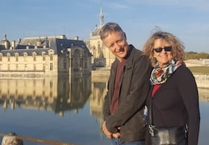student husband and wife Immersion Homestay + French Lessons in Picardie
