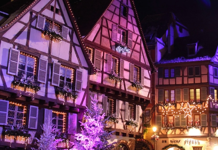 Christmas in Brittany France Dinan