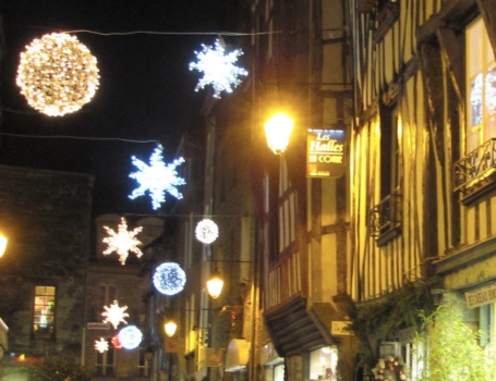 Dinan Christmas in France