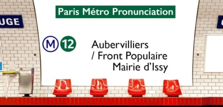 Paris Métro Line 12 Stations Pronunciation