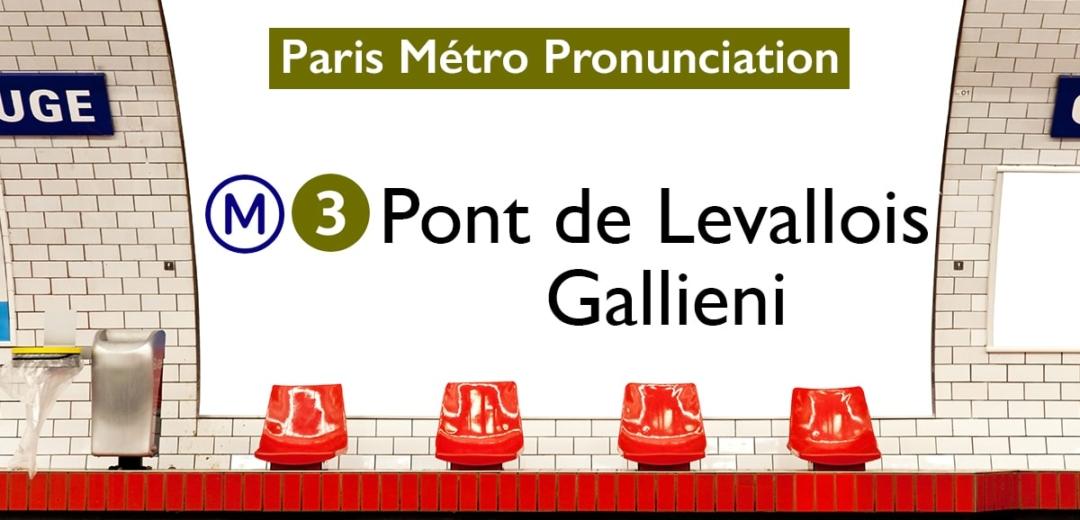 Paris Métro Line 3 Stations Pronunciation
