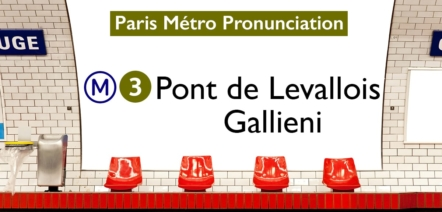 Paris Métro Line 3 Stations Pronunciation