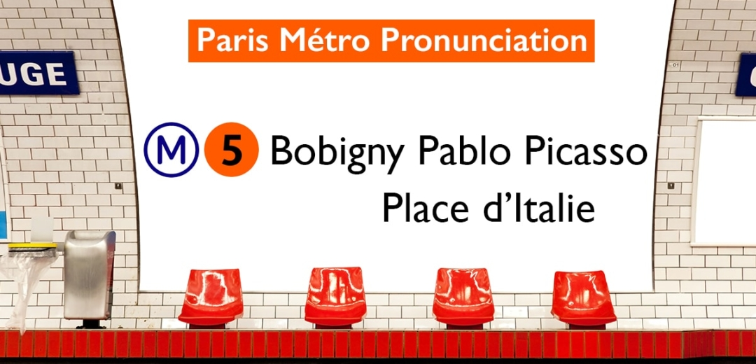Paris Métro Line 5 Stations Pronunciation