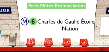 Paris Métro Line 6 Stations Pronunciation