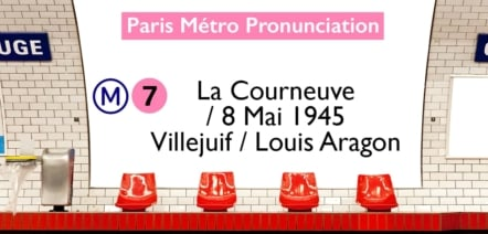 Paris Métro Line 7 Stations Pronunciation