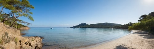 beach in provence