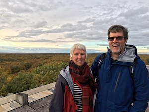 husband and wife immersion in Loiret
