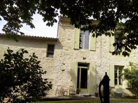 learn french immersion france bordeaux the house