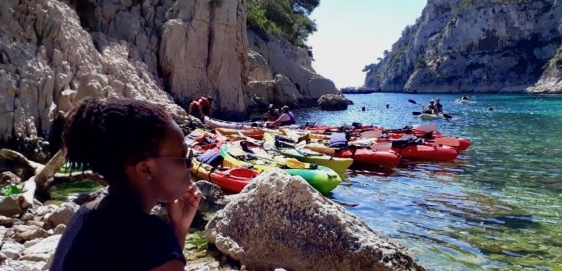 calanque kayak french vocabulary