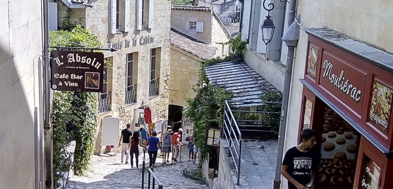 learn french saint emilion