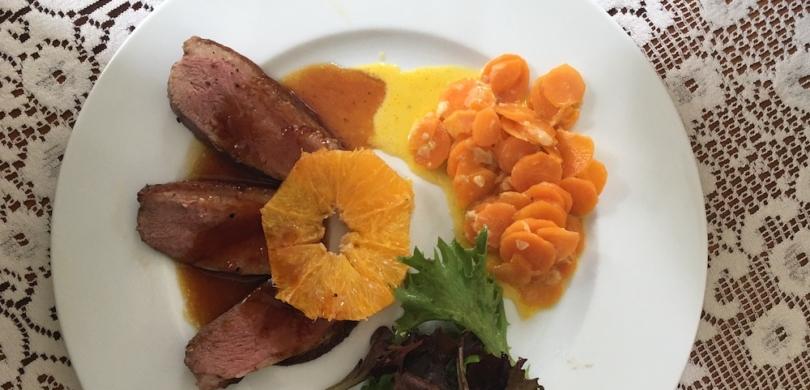 duck recipe bilingual practice